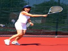 Dziewczyna tenis