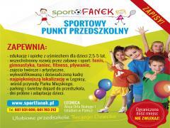 """ZAPISY DO PRZEDSZKOLA """"SPORTFANEK"""" na rok 15/16 i bieżące :)"""