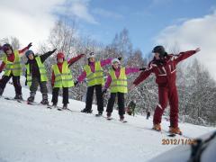 Nauka i zabawa z instruktorem na sniegu