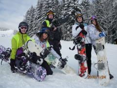 Snowboard - przygoda za sniegu